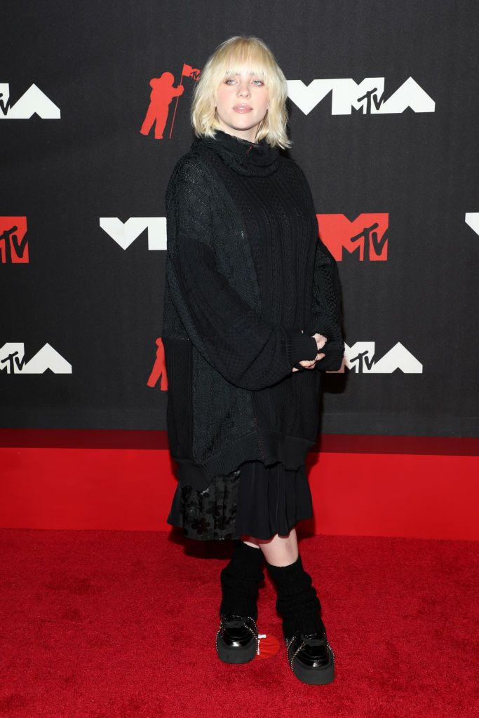 2021 mtv video music awards red carpet billie eilish