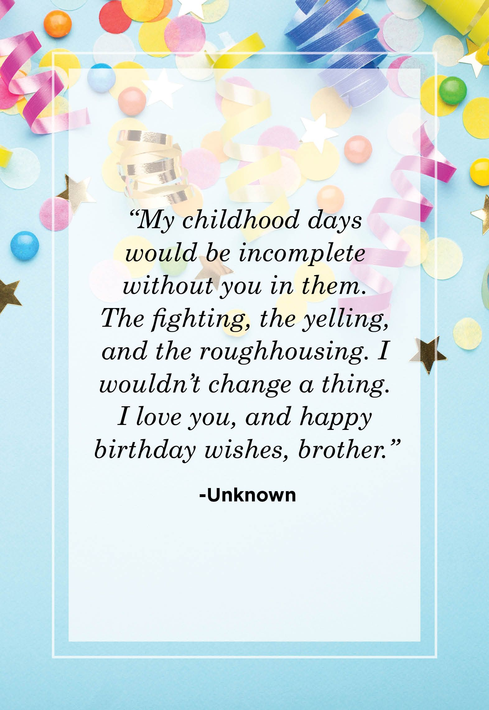 Brother Birthday Image : brother, birthday, image, Birthday, Quotes, Brother, Sibling