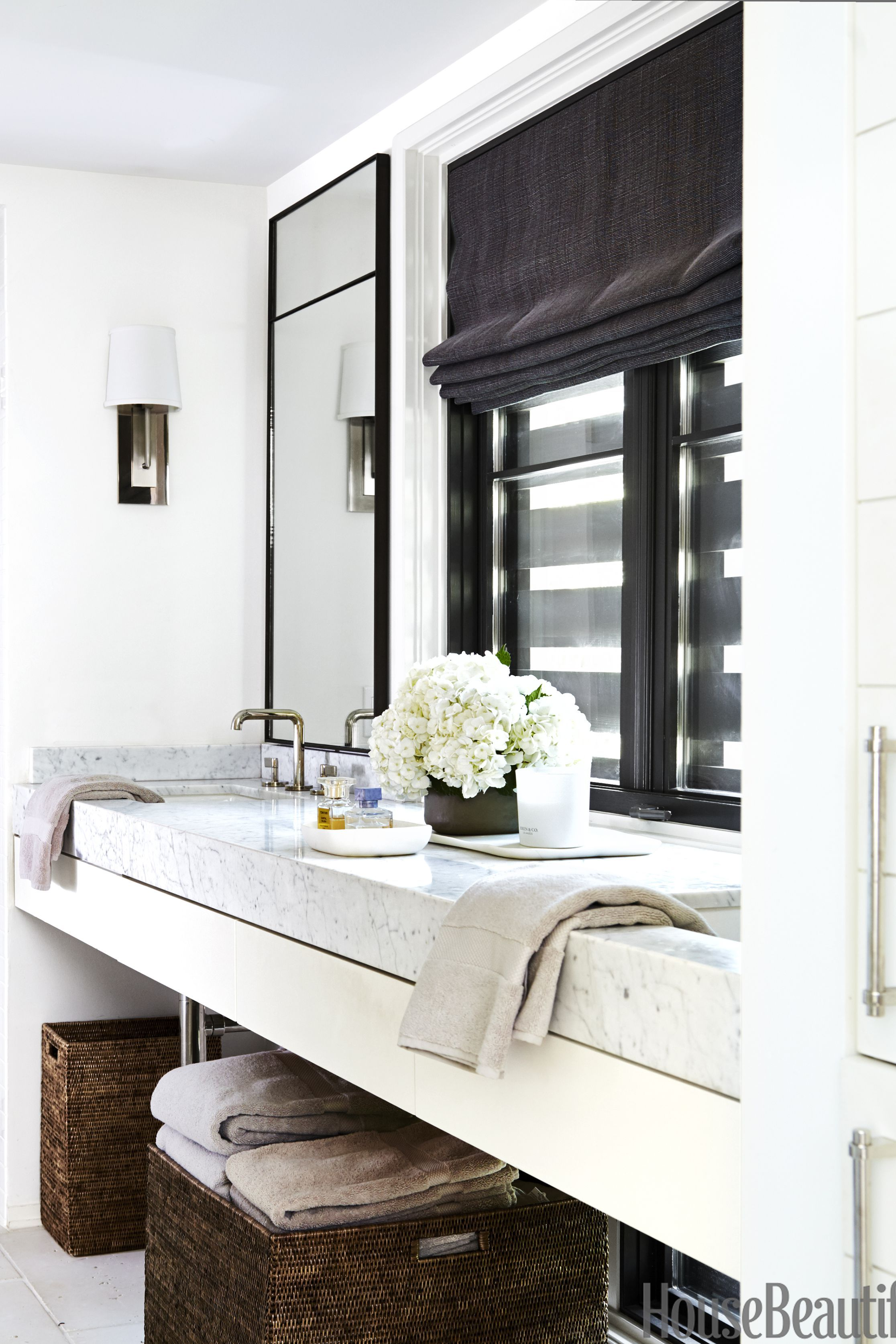tile designs for living room floors in the philippines wall shelves 15 black and white bathroom ideas - & ...