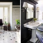 40 Black White Bathroom Design And Tile Ideas