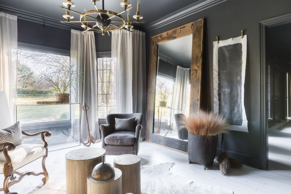 black and white living rooms for small spaces 44 striking room ideas how to use decor walls