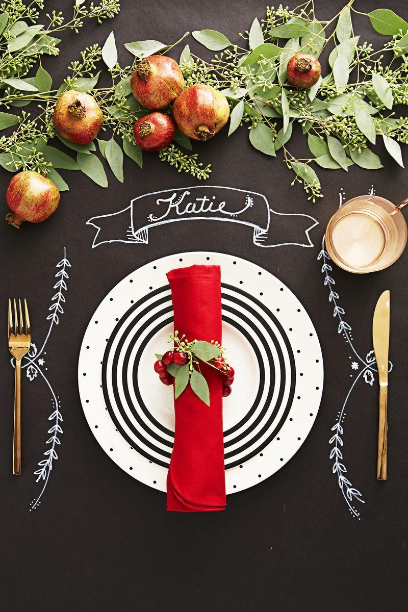 53 diy christmas table settings and