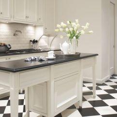 Black And White Tile Kitchen Espresso Island 26 Gorgeous Kitchens Ideas For Decor
