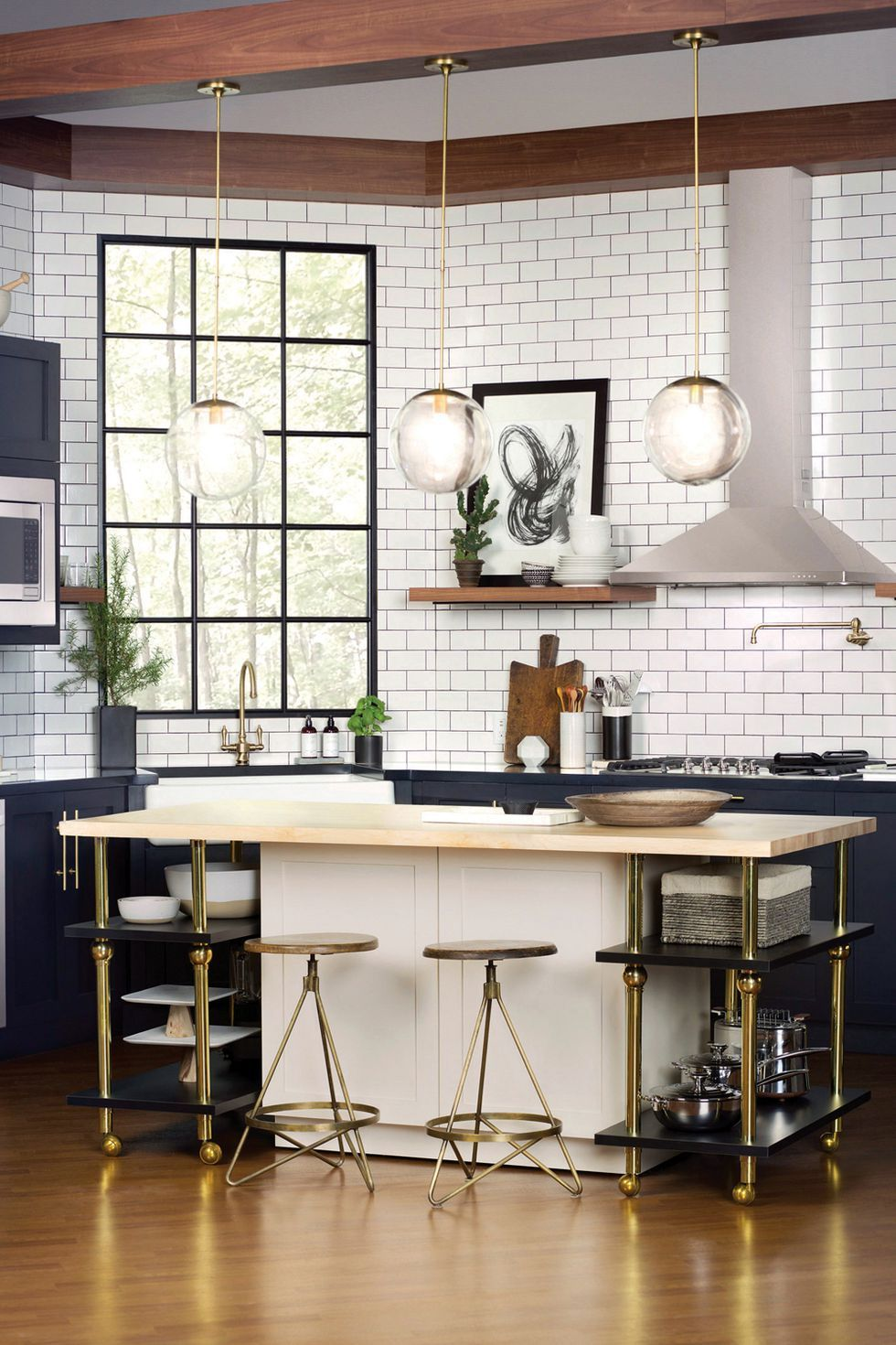 black and white tile kitchen best way to clean wood cabinets in 26 gorgeous kitchens ideas for decor