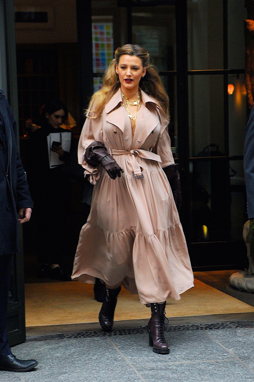 Celebrity Sightings in New York City - January 27, 2020
