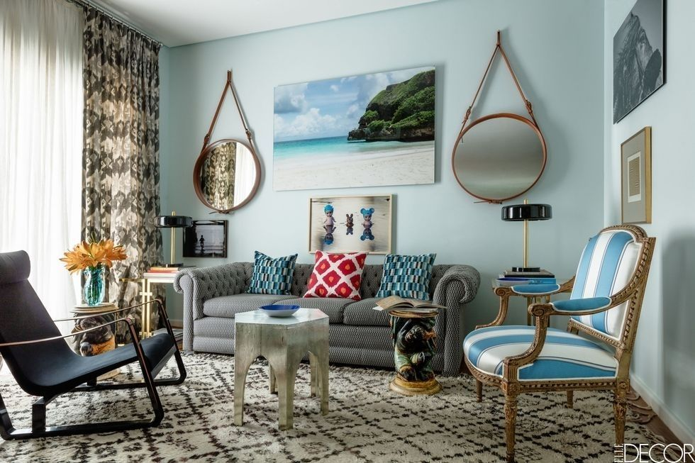 blue walls living room ideas on how to decorate 50 decorating use wall paint decor