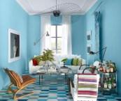 room design blue