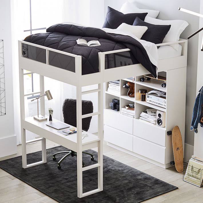 14 best loft beds for adults 2021