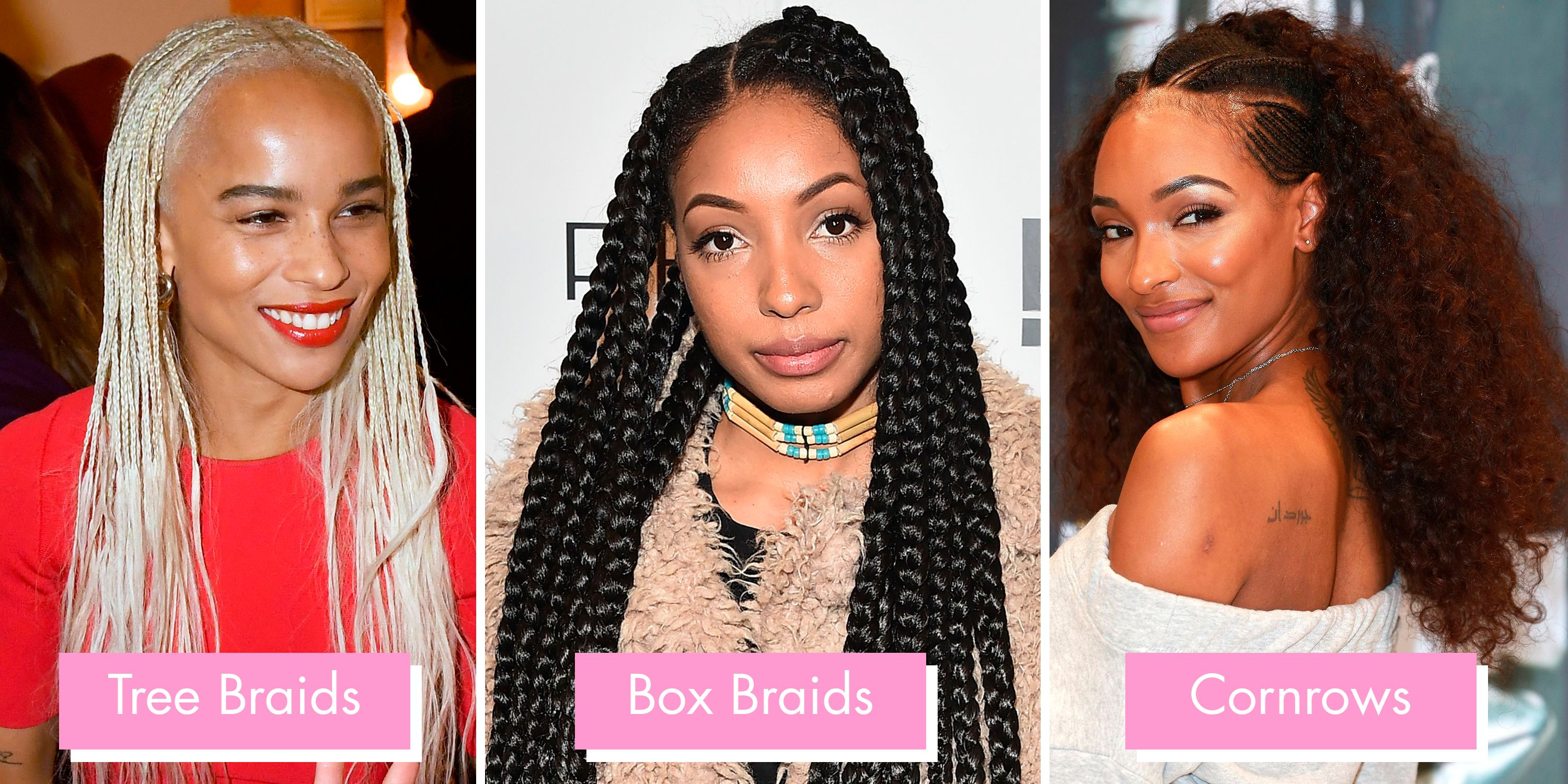 Braids Twists From Crochet And Box Braids To Dutch And Ghana