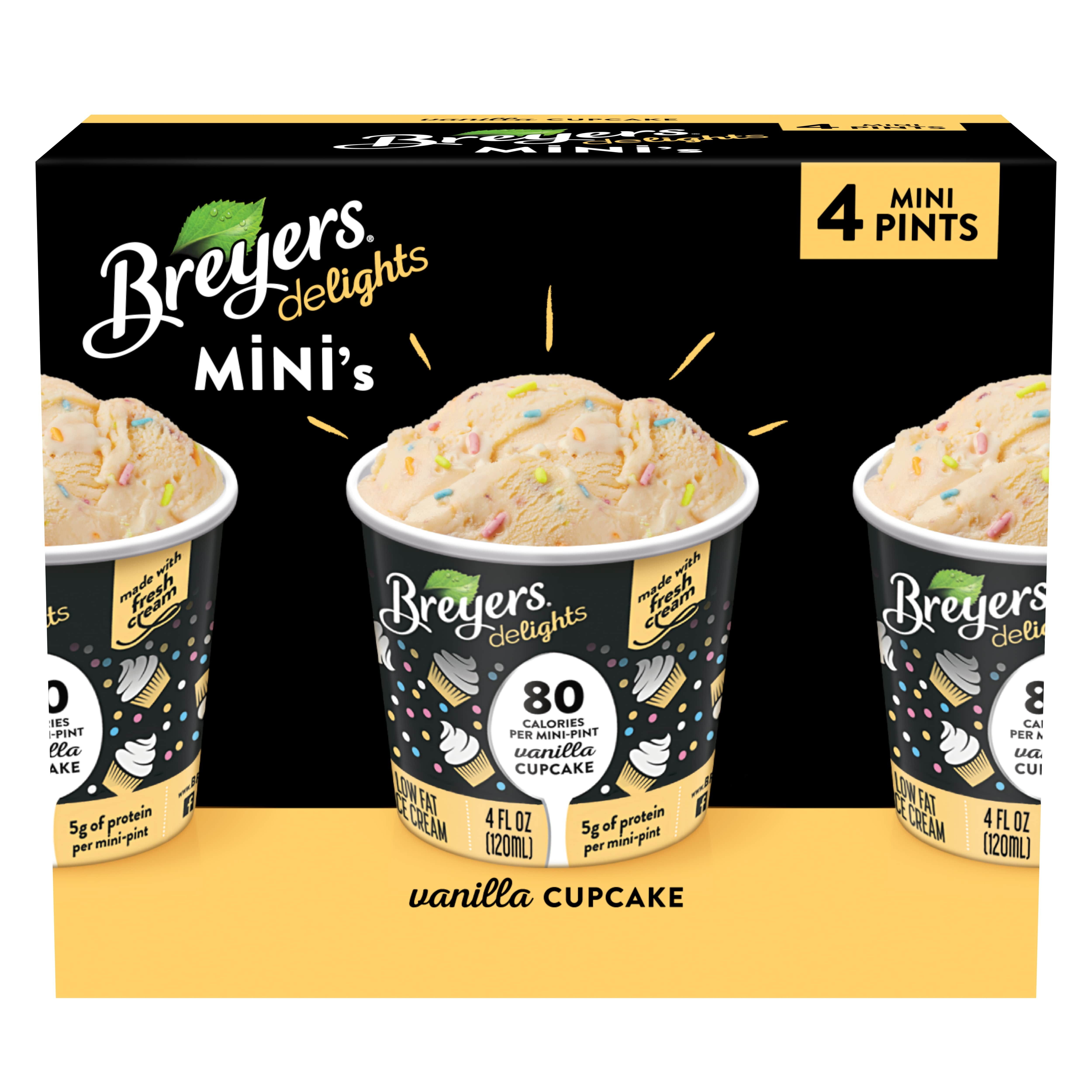 Breyers Now Sells 80 Calorie Mini Tubs Of Ice Cream That