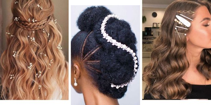 bridesmaid hair inspiration 2019 - 15 of the best wedding styles