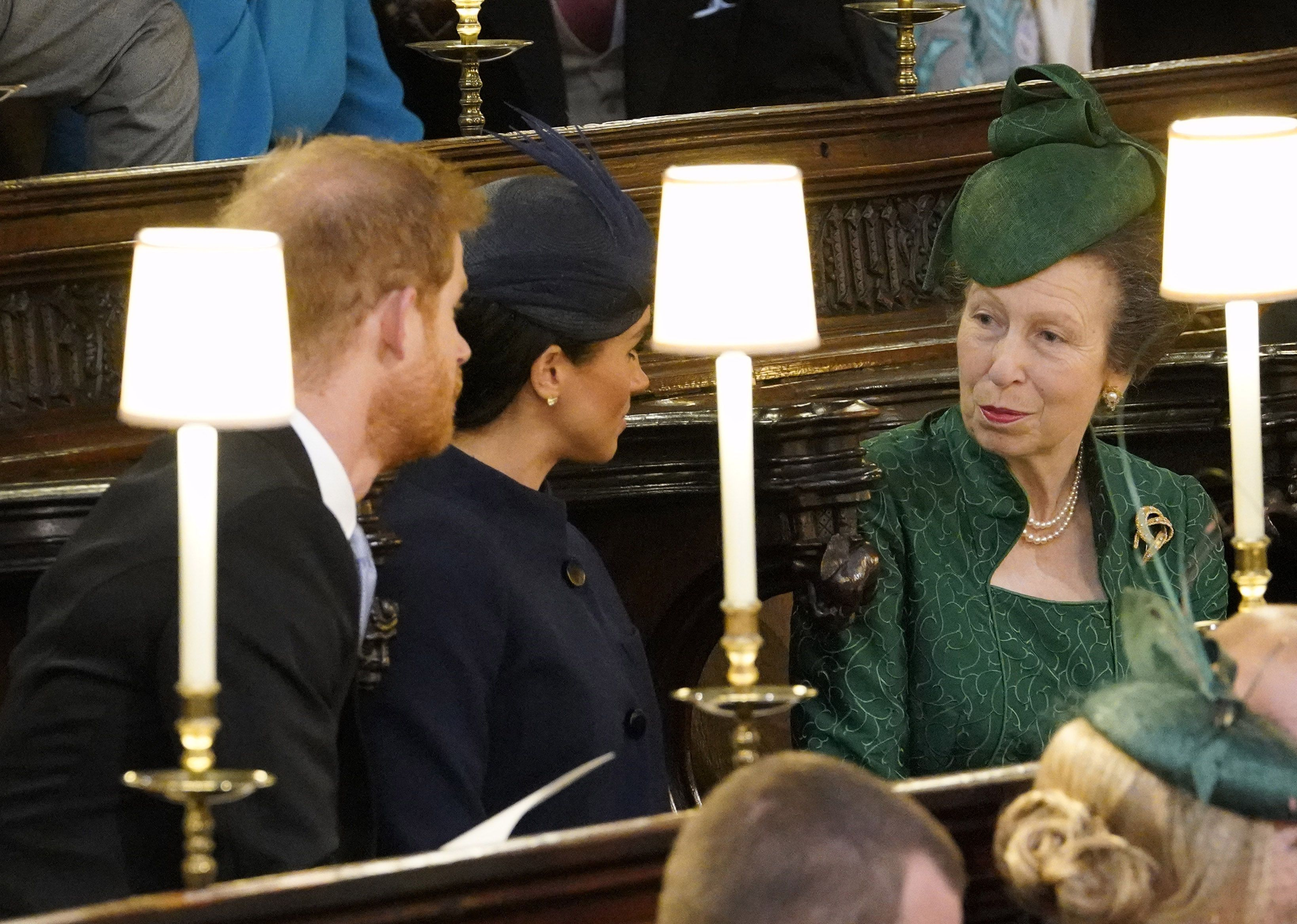 The Moment Princess Anne Learned of Meghan Markle and