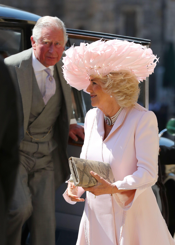 Camilla Parker Bowles Hat at Royal Wedding  Camilla