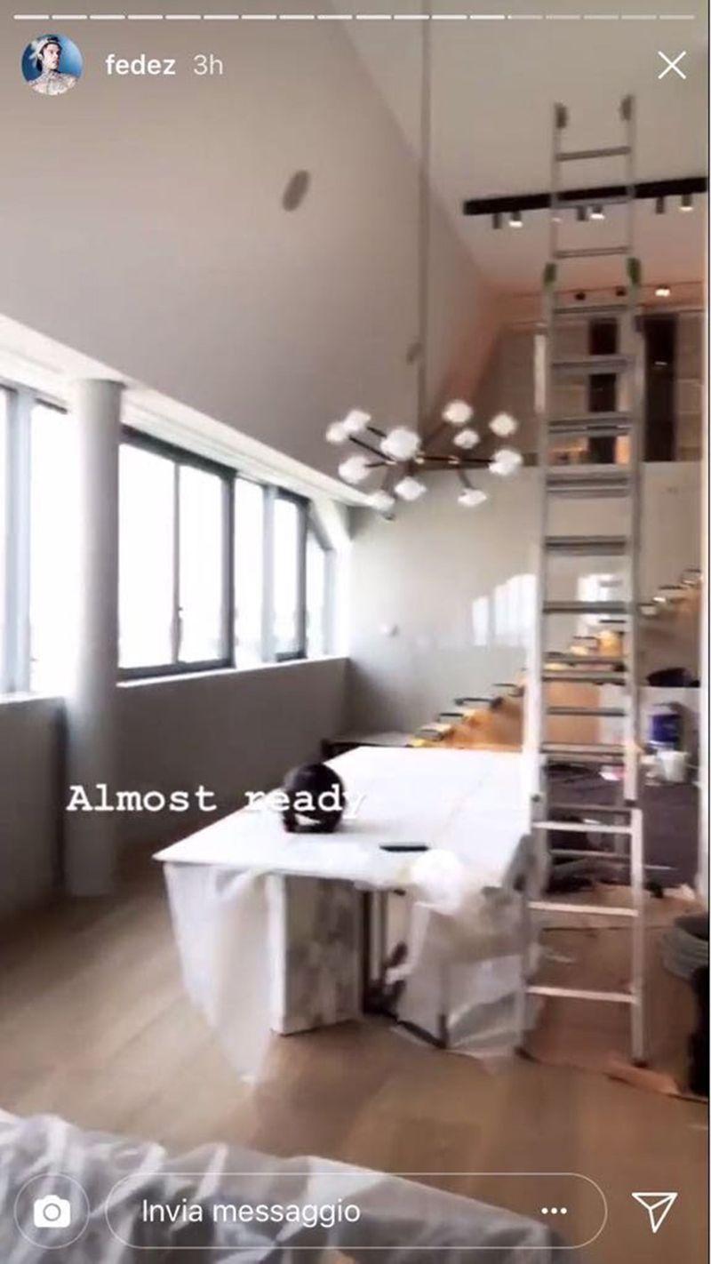 Chiara Ferragni e Fedez le foto della nuova casa
