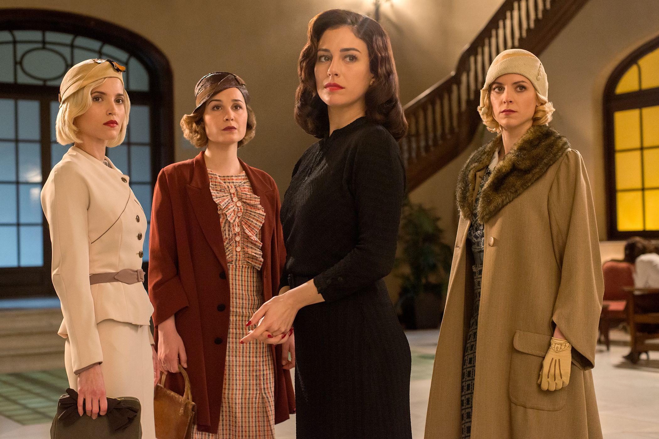 Las Chicas del Cable/Cable Girls Season 5: Trailer. Date. Cast