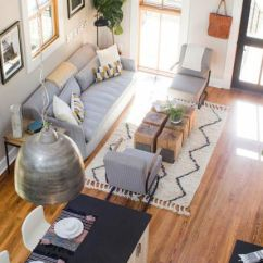 Living Rooms Decorated By Joanna Gaines Room Decorating Ideas With Dark Brown Sofa Best Designs Of All Time Fixer Upper