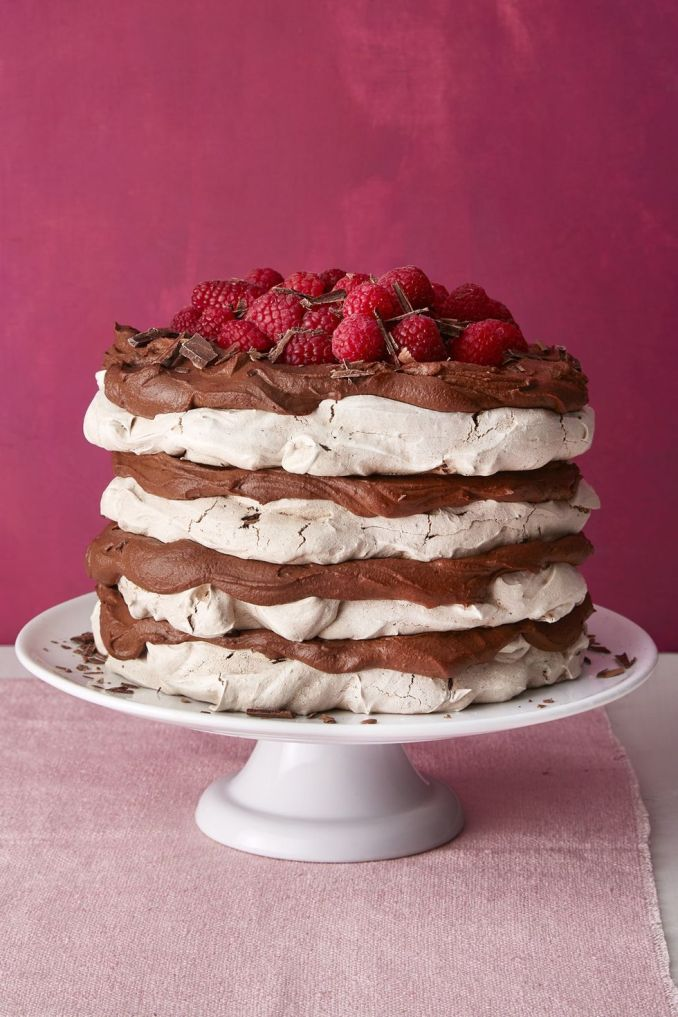 How to Make Chocolate Meringue Layer Cake - Best Chocolate