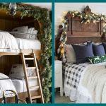24 Best Christmas Bedroom Decor Ideas 2019 Holiday Bedroom Decorations