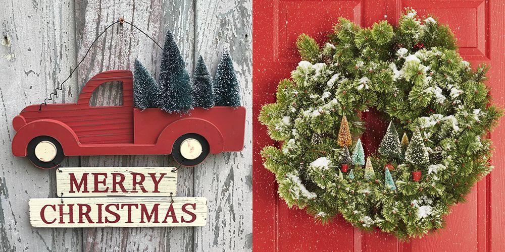 35 christmas door decorating