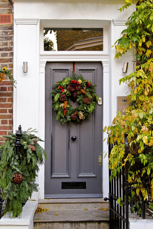 Christmas Wreath Christmas Door Wreath Uk