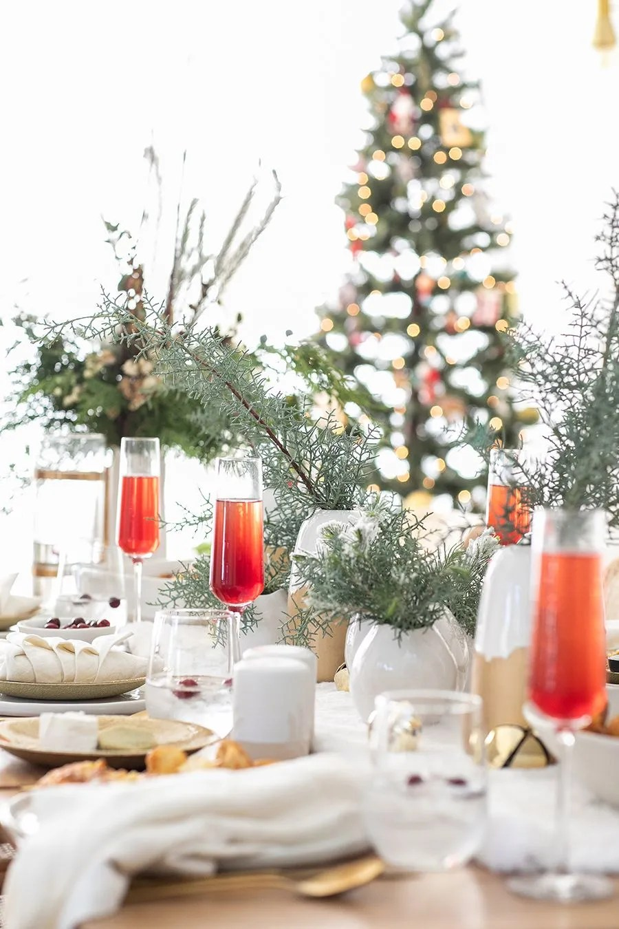 Christmas In July Table Decorating Ideas