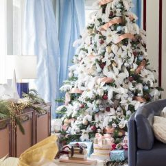 Living Room Tree Ashley Furniture Prices Rooms 76 Best Christmas Decorating Ideas How To Decorate A Feathers
