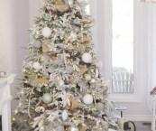 White Christmas Tree 2018