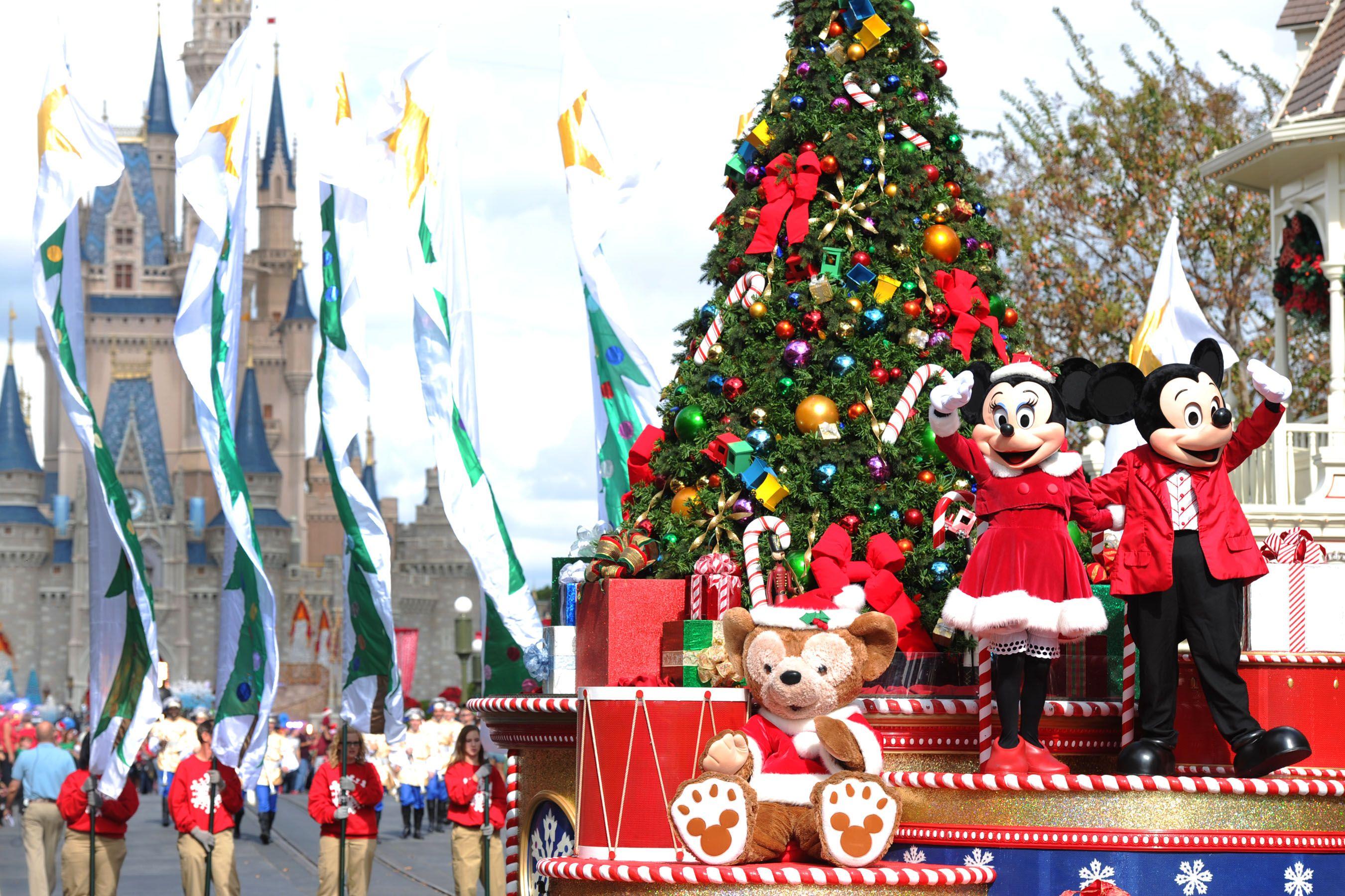 Disney World Christmas Ornaments