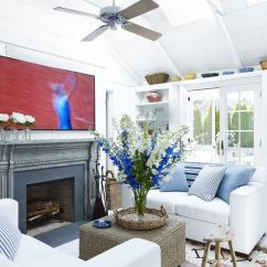 Beach Living Room Decor Ceiling Lighting Coastal Rooms