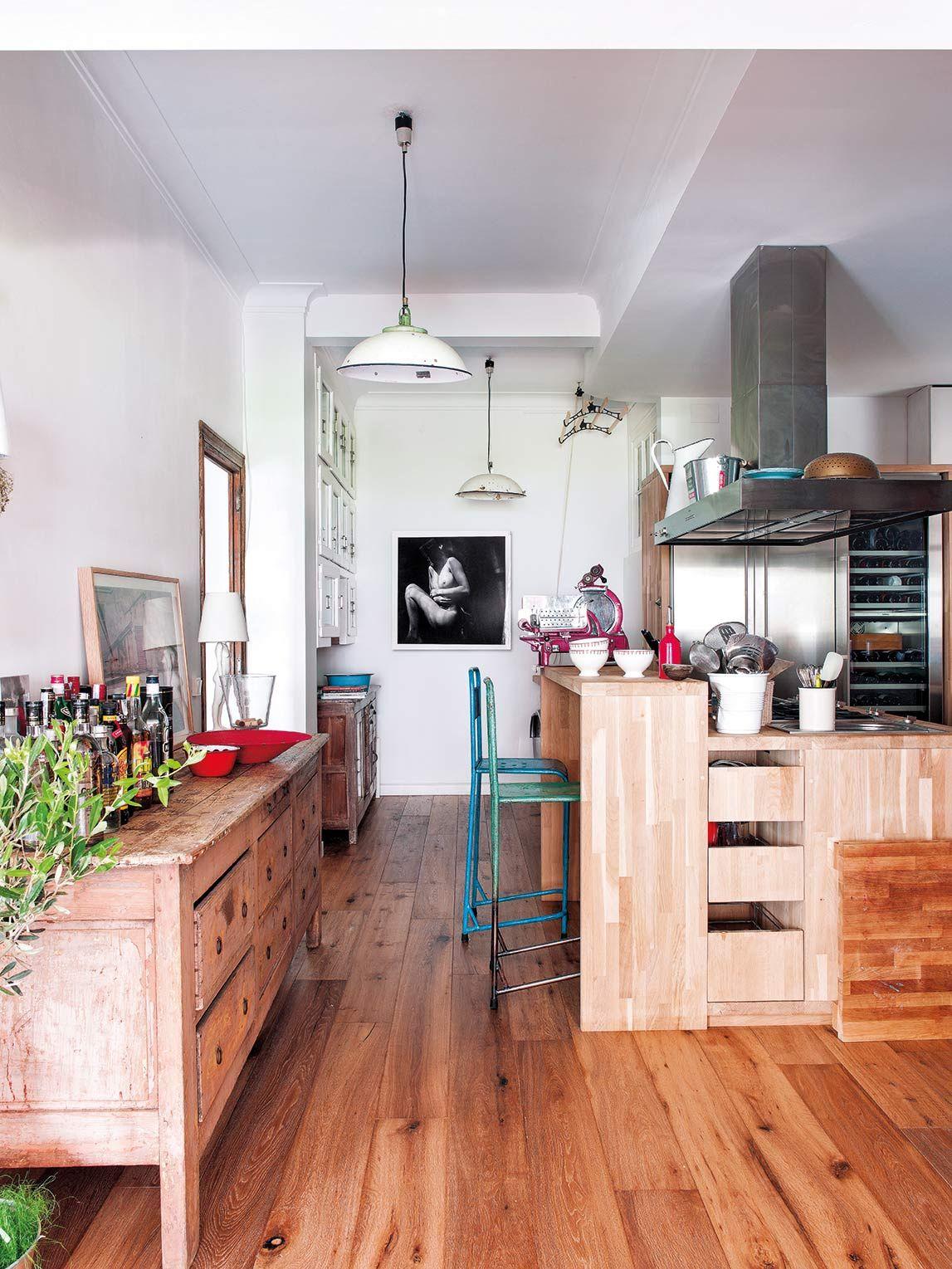 Claves para una cocina actual abierta tecnolgica y