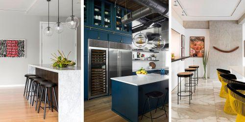 Cocinas con barra: ideas y tendencias de decoración