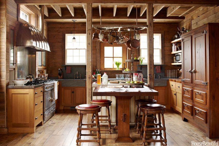 Cmo decorar cocinas rsticas y acogedoras