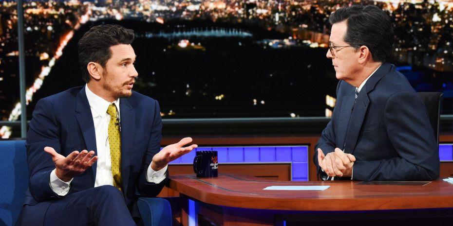 Image result for Stephen Colbert Franco
