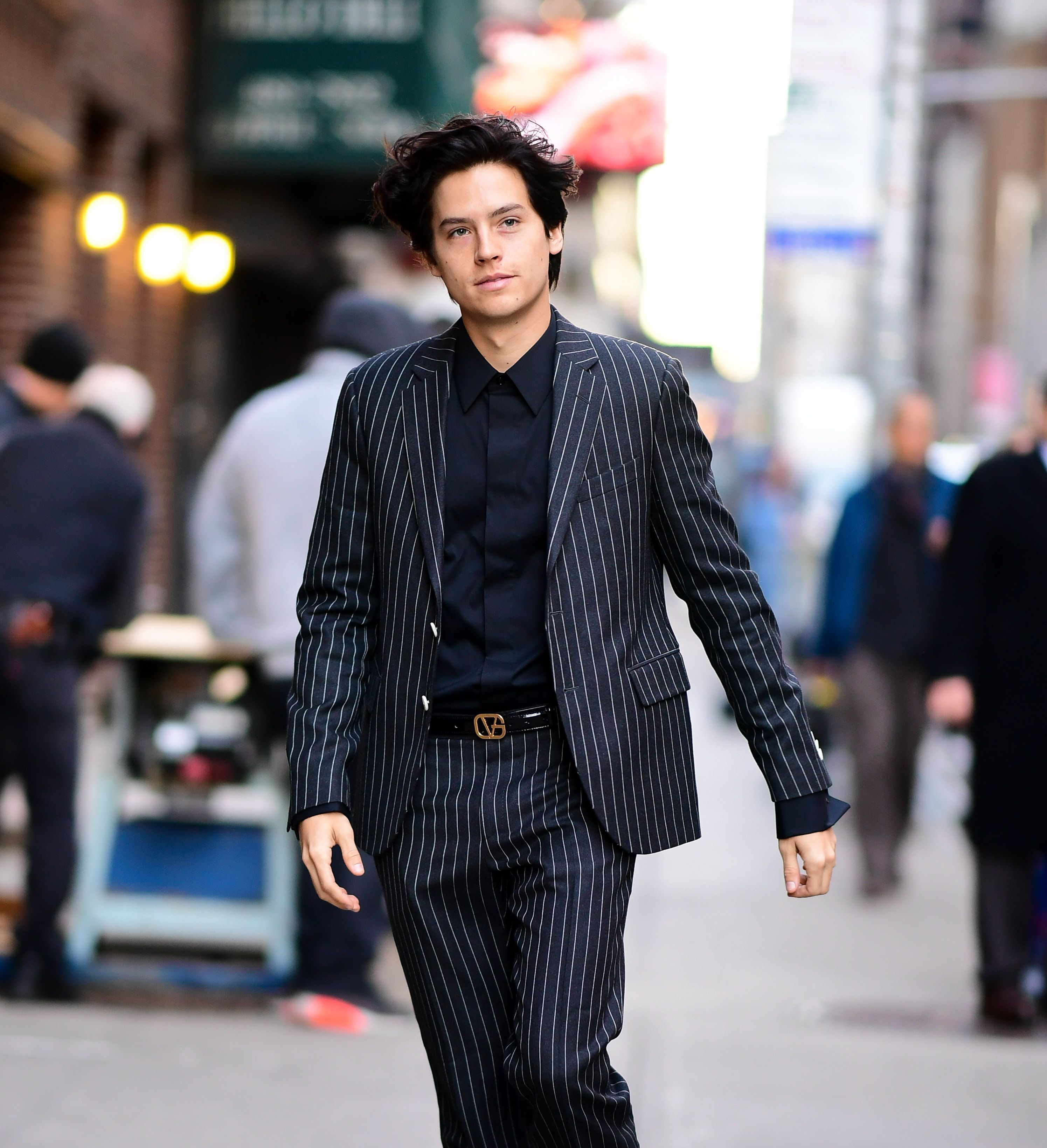 Cole Sprouse Reveals Wall Street Journal Photoshoot
