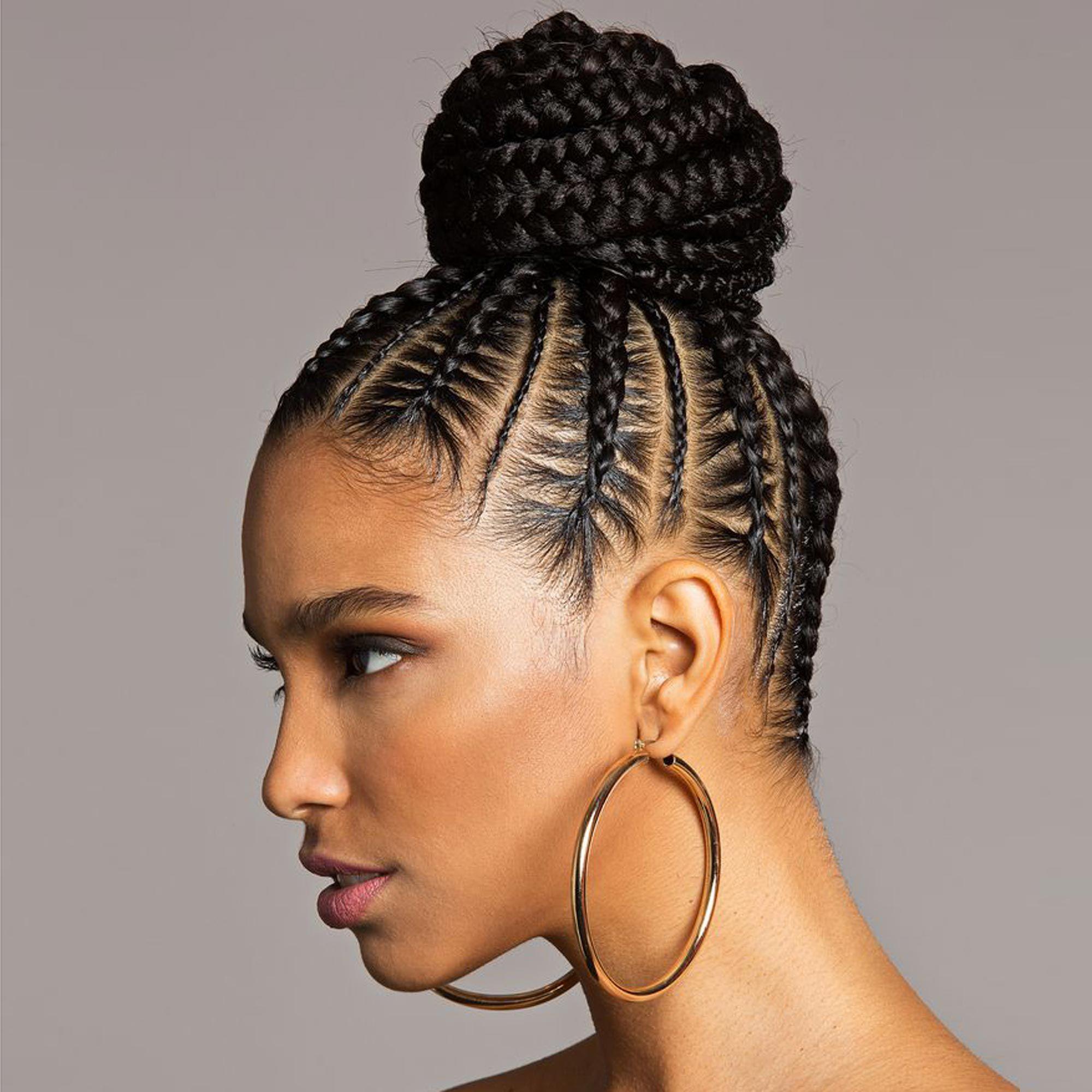 3 braided bun tutorials of