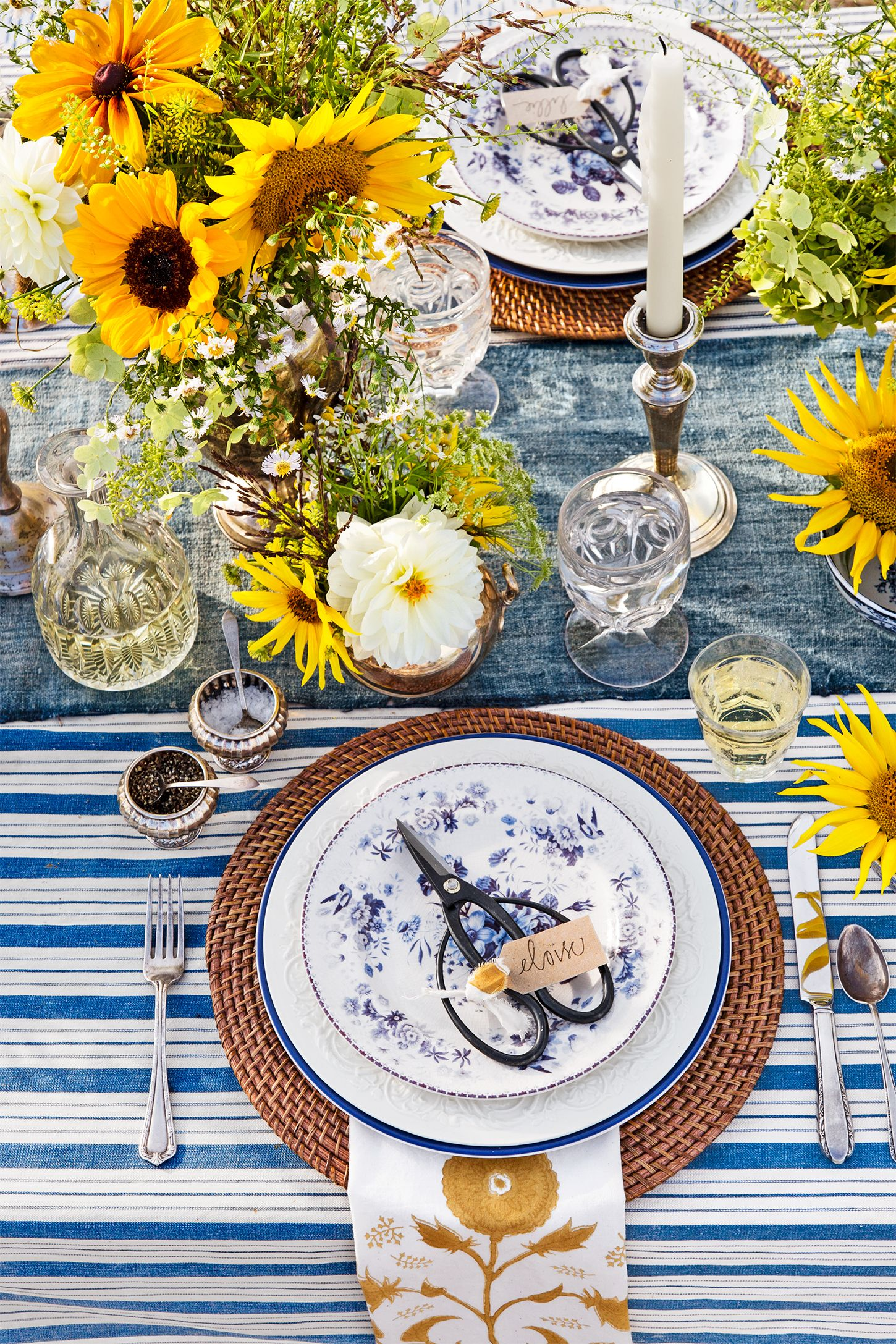 25 summer table settings party