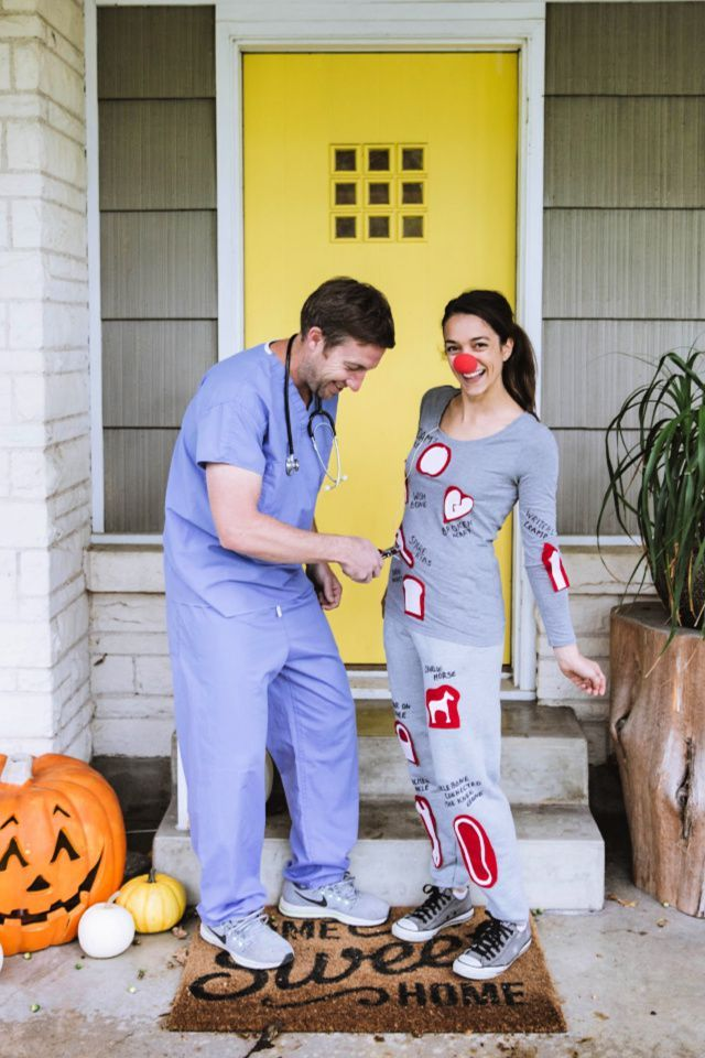 From emily in paris to black is king — here are 20 halloween costume ideas that'll no doubt win you best costume. 52 Diy Couples Halloween Costumes Easy Homemade Couples Costume Ideas