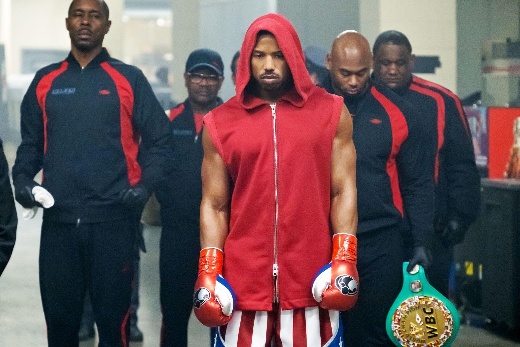 Creed II, Michael B Jordan, Fitness