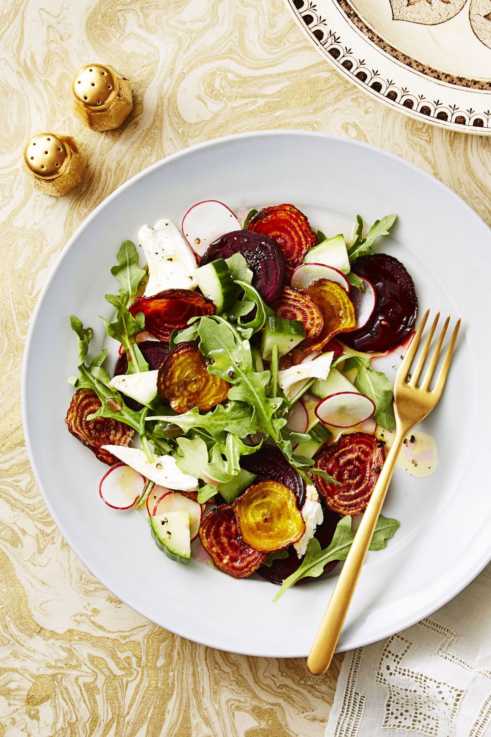 Crispy Beet Salad - Easter Brunch Ideas