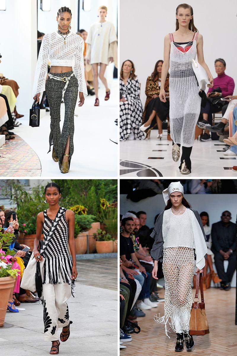 Spring/Summer 2019 fashion trends: Crochet