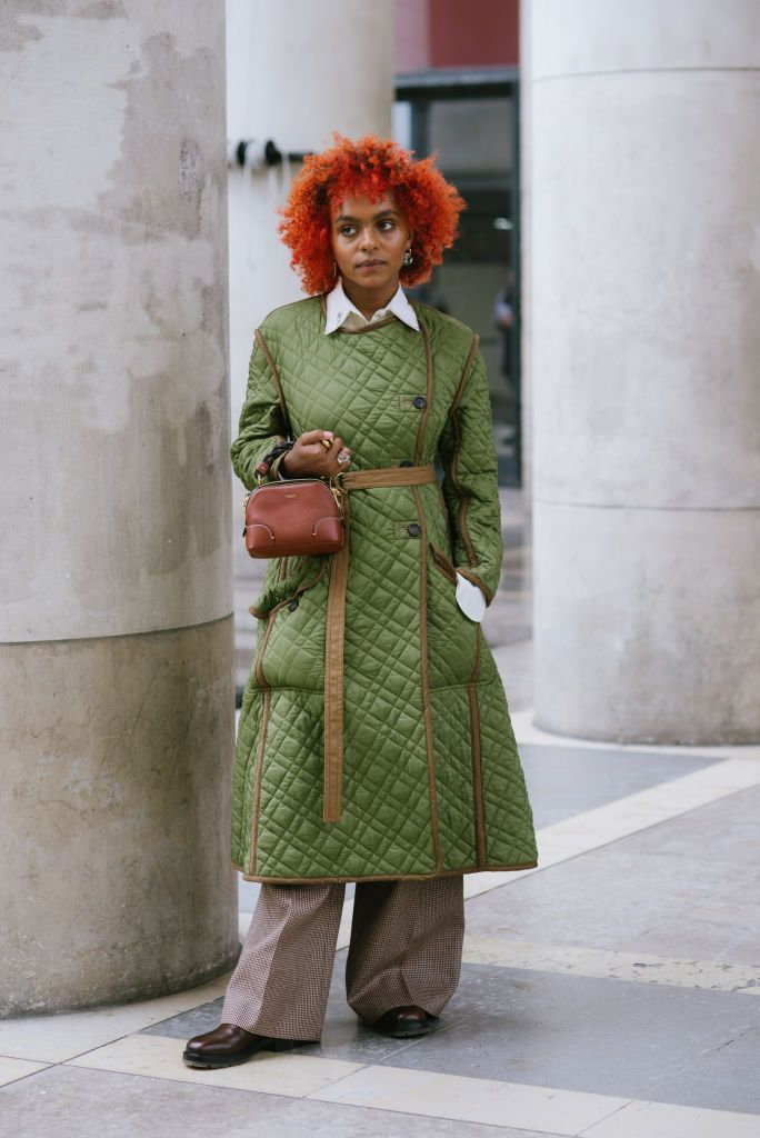 street style at paris fashion week   womenswear spring summer 2021  day four