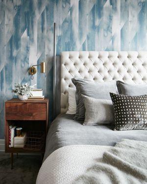 bedrooms interiors statement current bedroom wallpapered decorate portfolio
