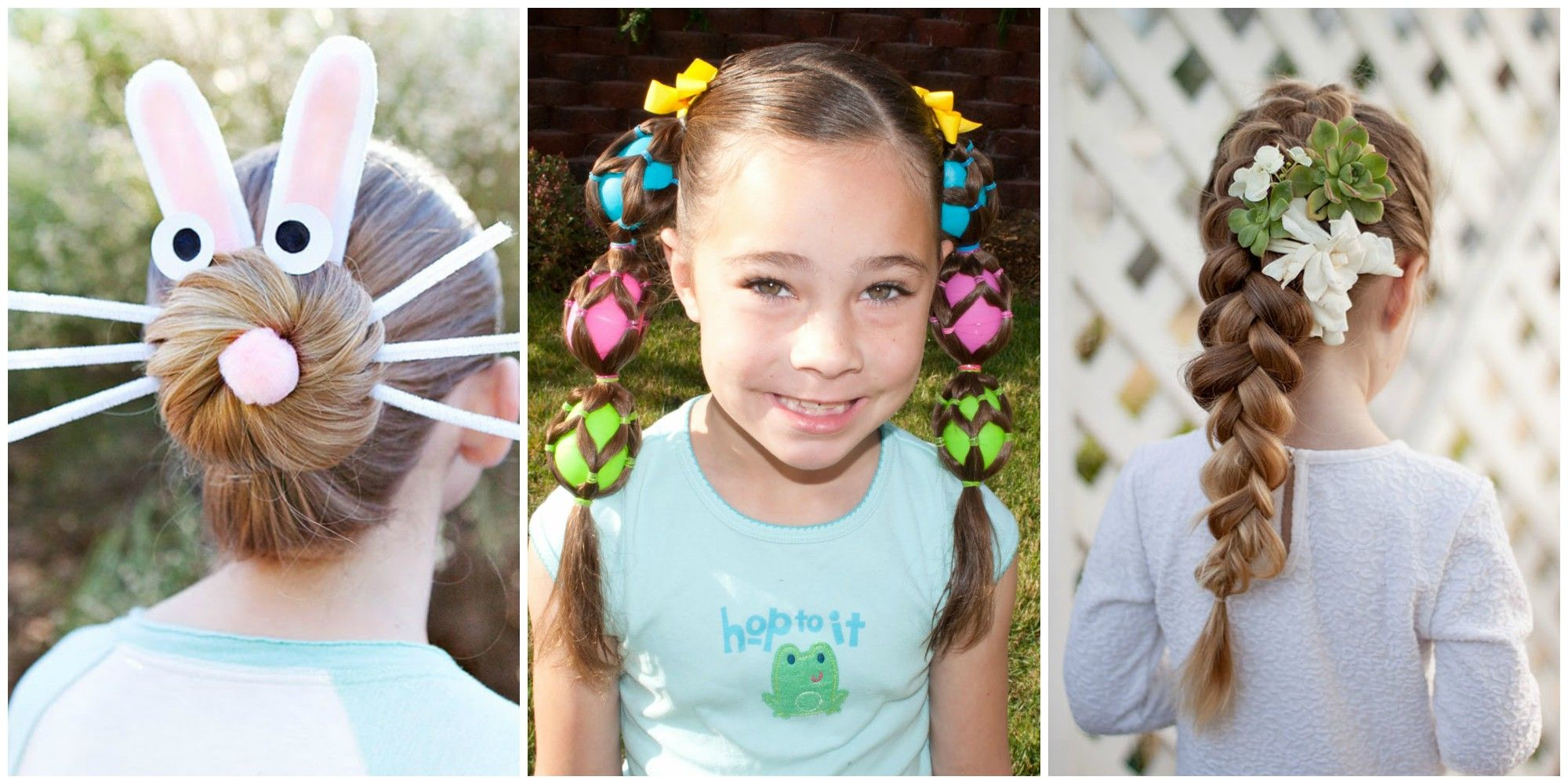 8 cute easter hairstyles kids