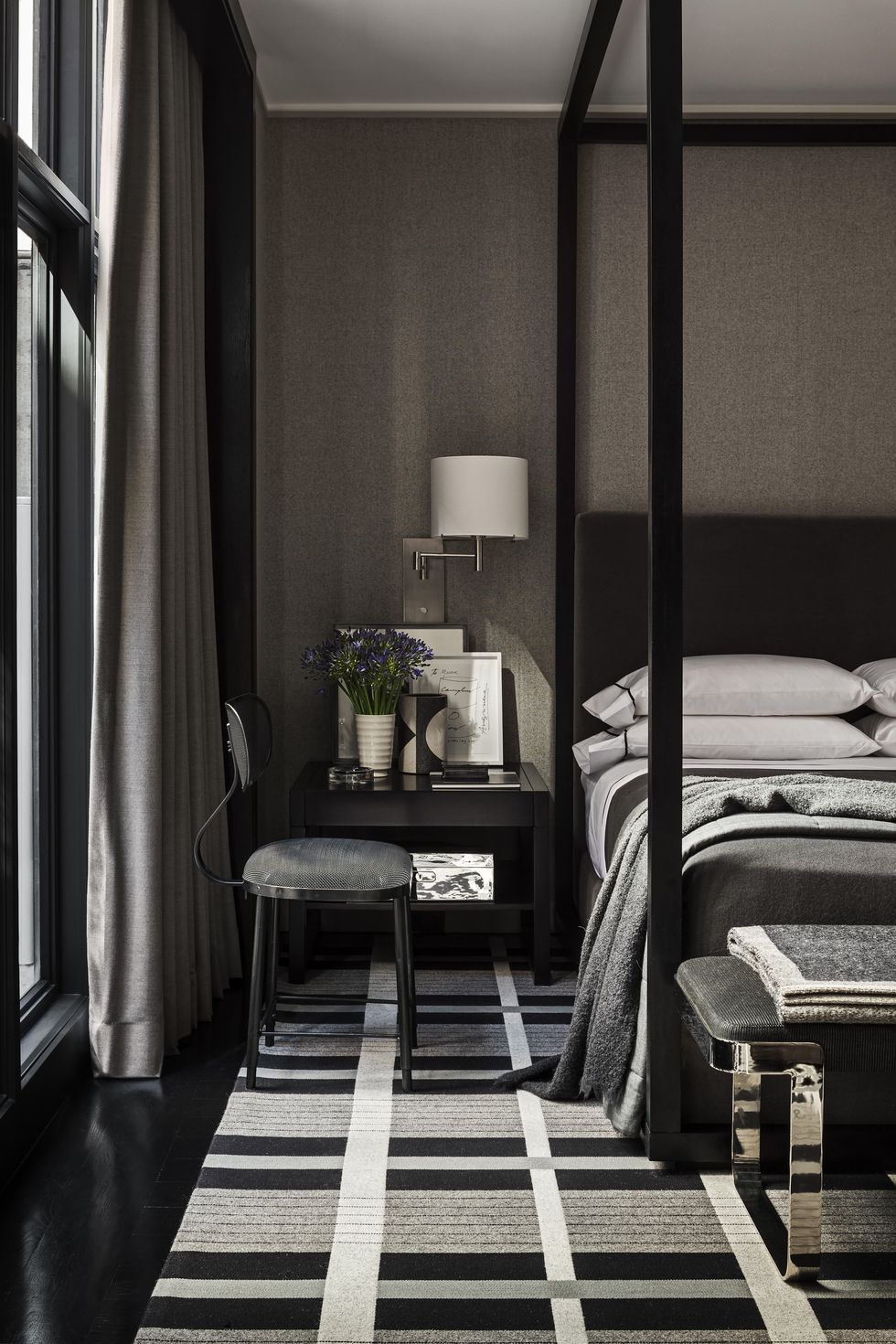 Check out our black bedroom decor selection for the very best in unique or. 22 Gorgeous Dark Bedrooms Bedrooms With Dark Color Palettes