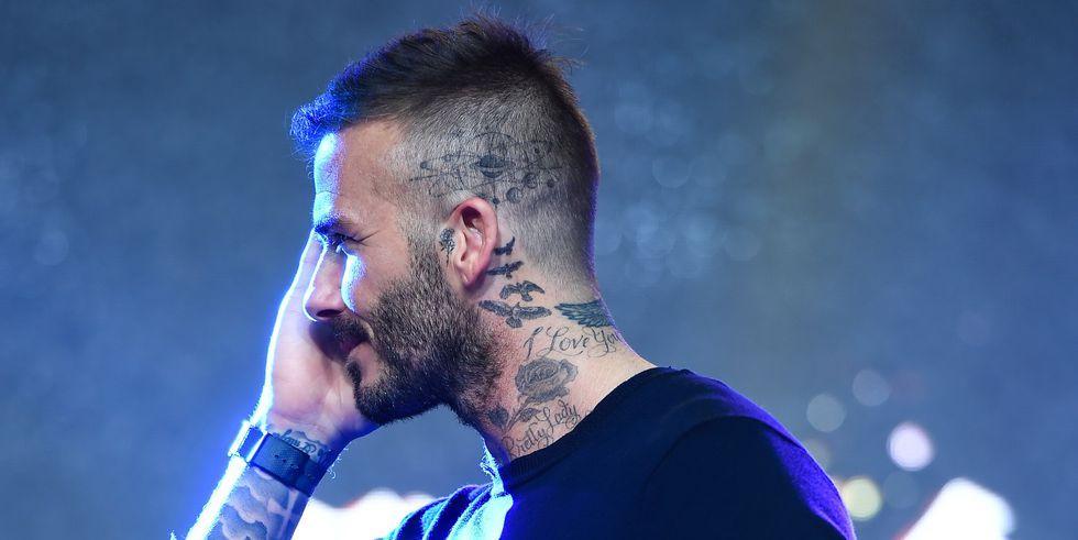 David Beckham Se Ha Tatuado La Cabeza El Nuevo Tatuaje De Beckham