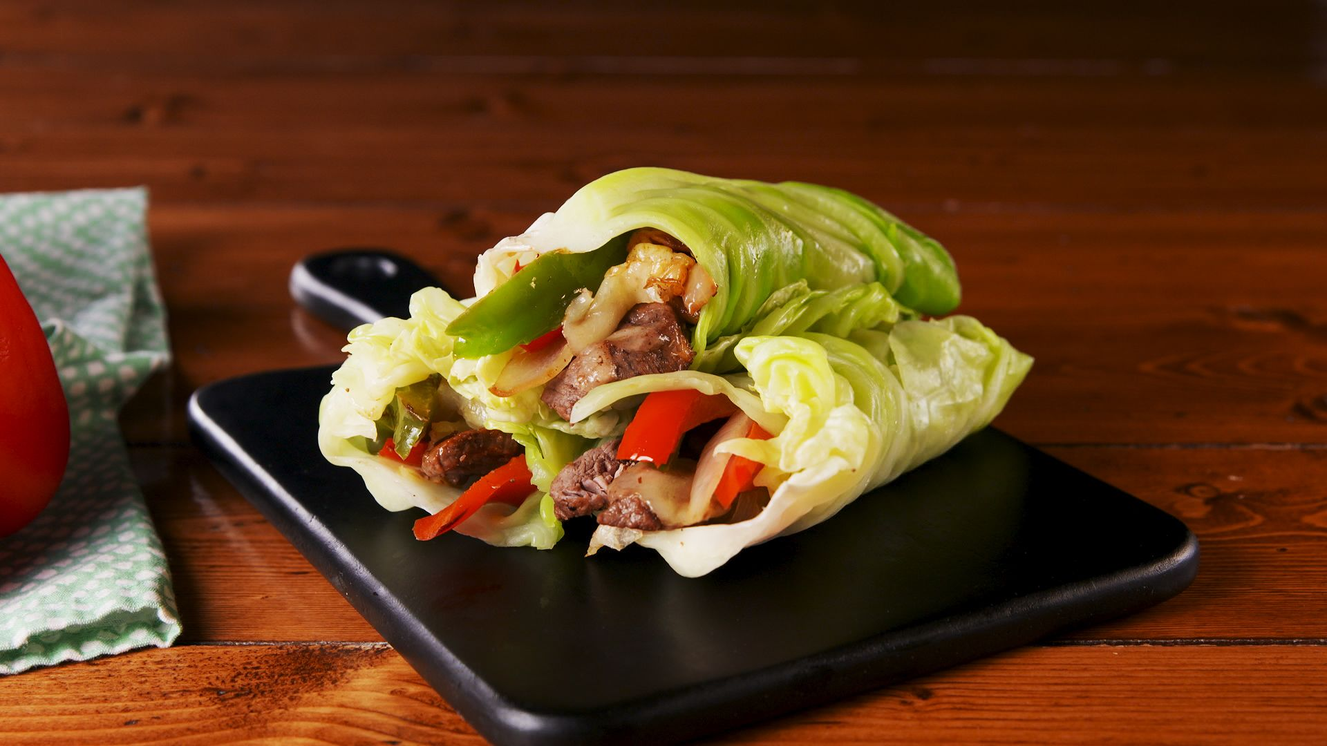 Best Philly Cheesesteak Cabbage Wraps Recipe  How To Make
