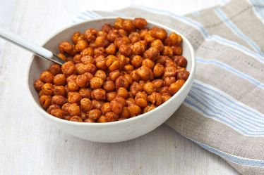 Image result for roasted chickpeas