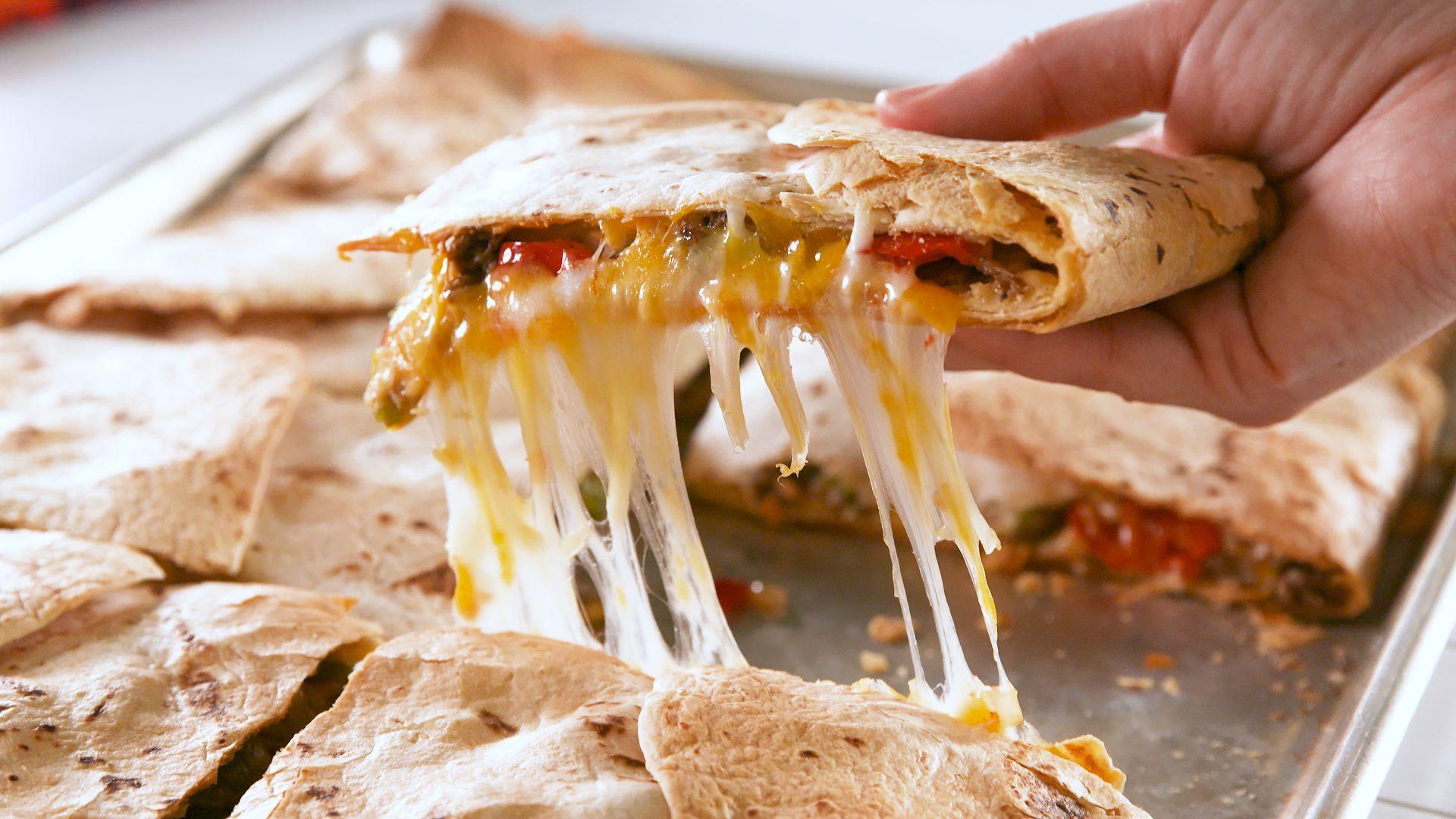 Best Sheet Pan Quesadilla Recipe  How to Make Sheet Pan