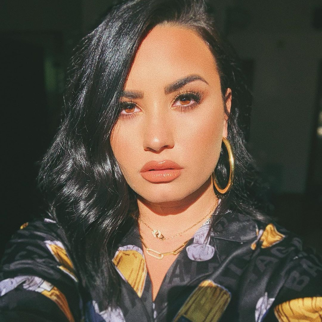 Demi Lovato Wore A Crop Top Pajama Set for Her 28th Birthday