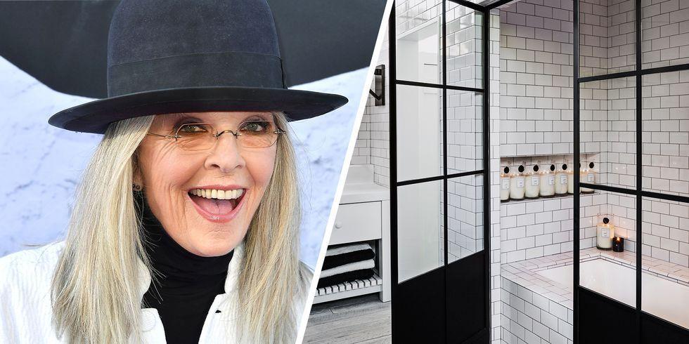 Diane Keaton The House That Pinterest Built Celebrity